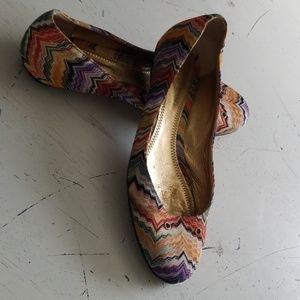 Missoni knit ballet flat 36
